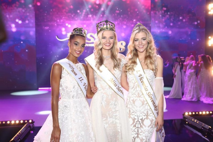 Dominika Grecova crowned as Miss Slovensko 2018