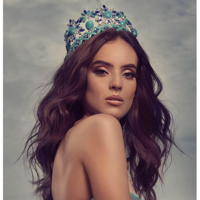 Vanessa Ponce de León will represent Mexico at Miss World 2018