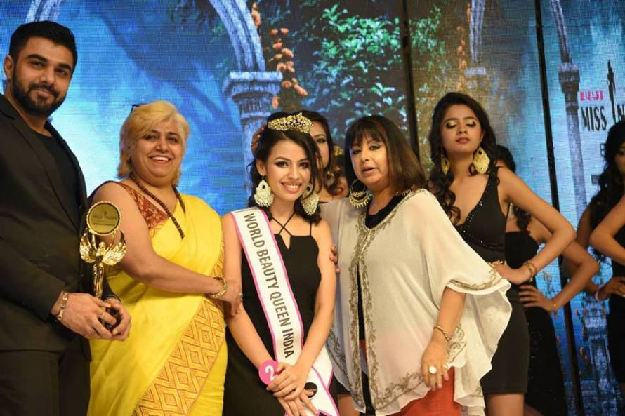Agrima Grover wins World Beauty Queen India 2018 at Rubaru Miss India Elite