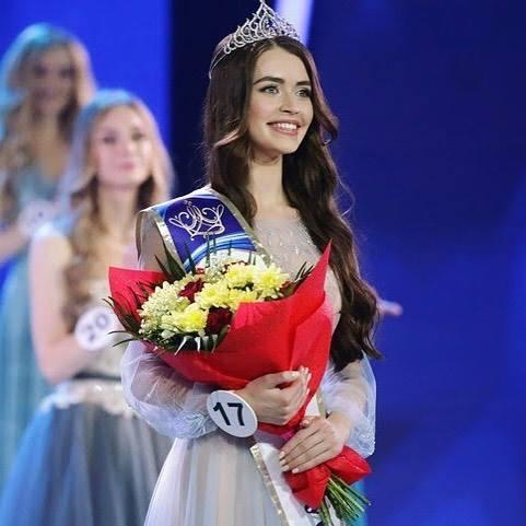 Maria Vasilevich crowned as Miss World Belarus 2018