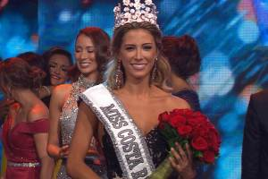 Natalia Carvajal Sanchez crowned as Miss Costa Rica 2018