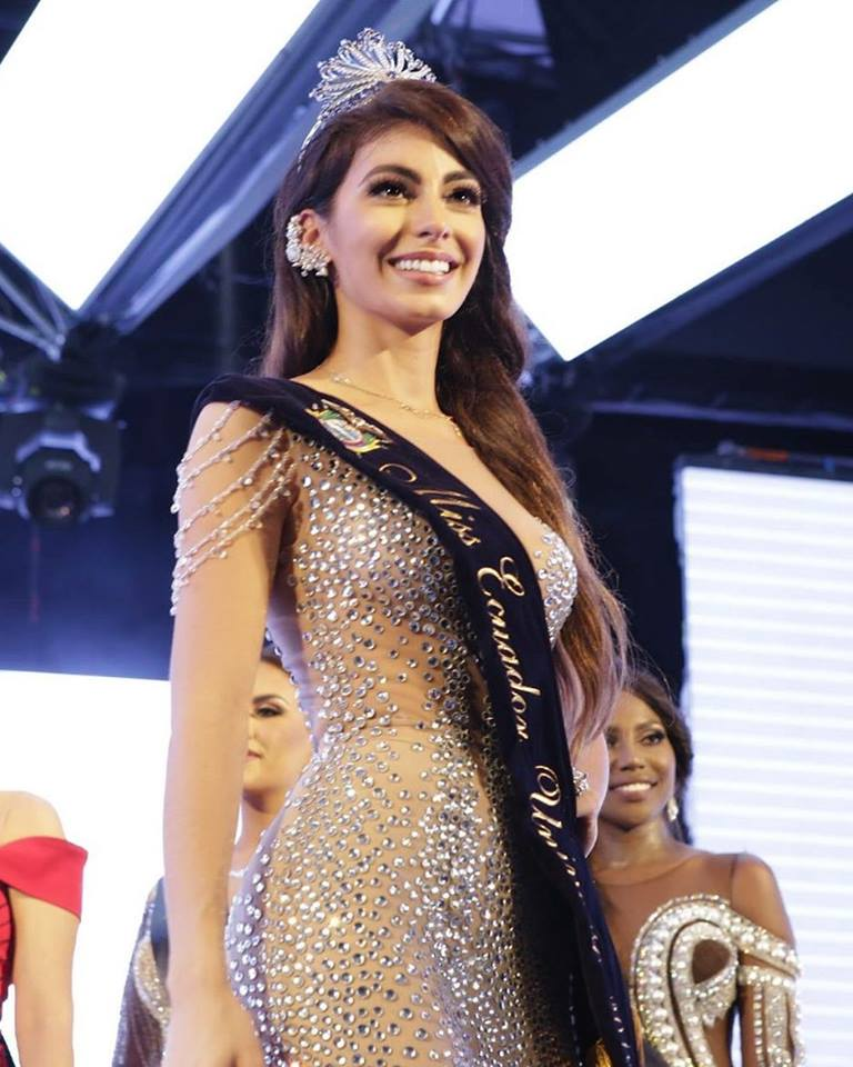 Virginia Limongi crowned as Miss Ecuador Universe 2018