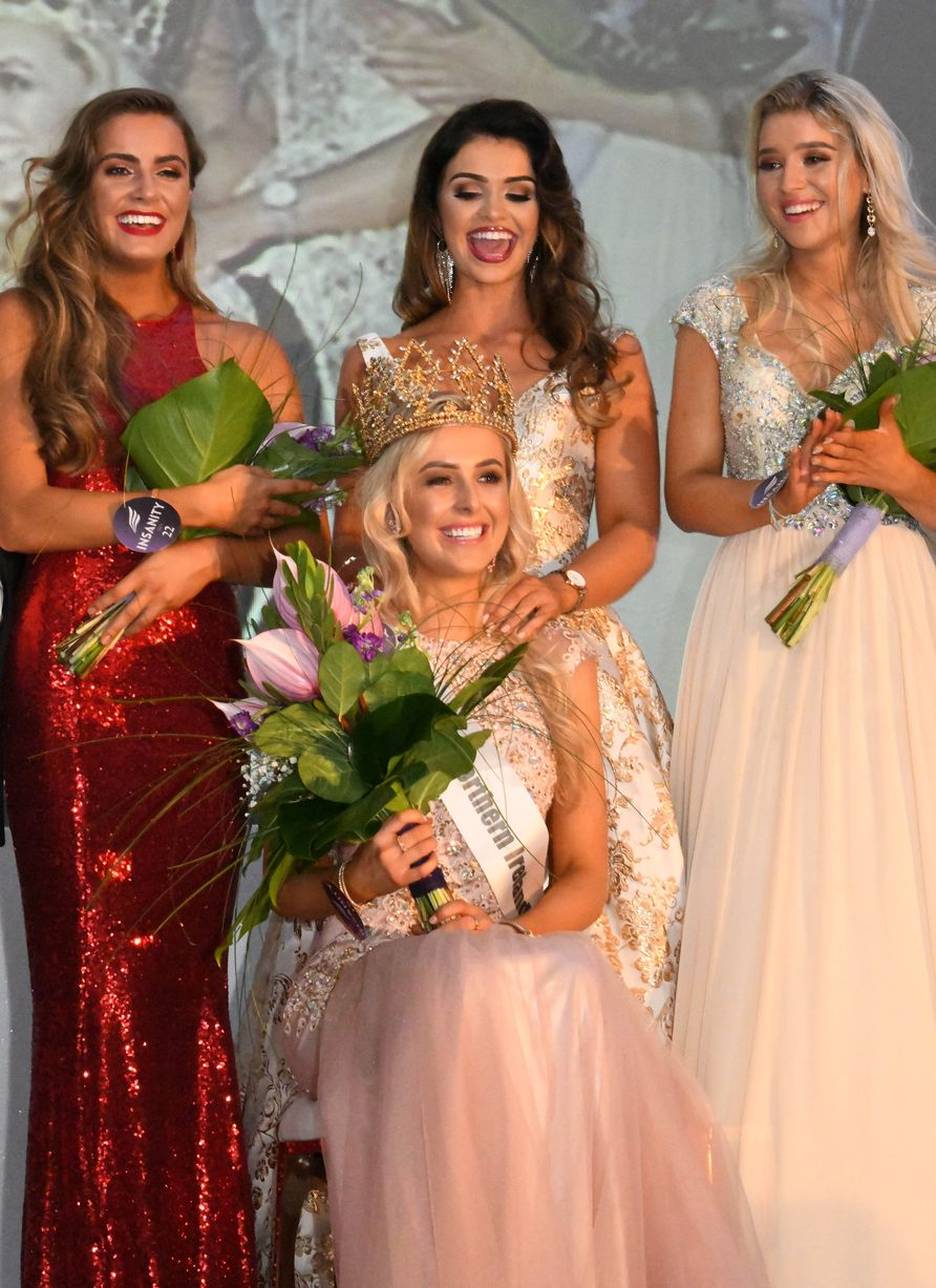 Katharine Walker crowned as Miss Northern Ireland 2018