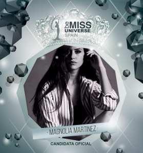 Miss Universe Spain 2018 Contestants