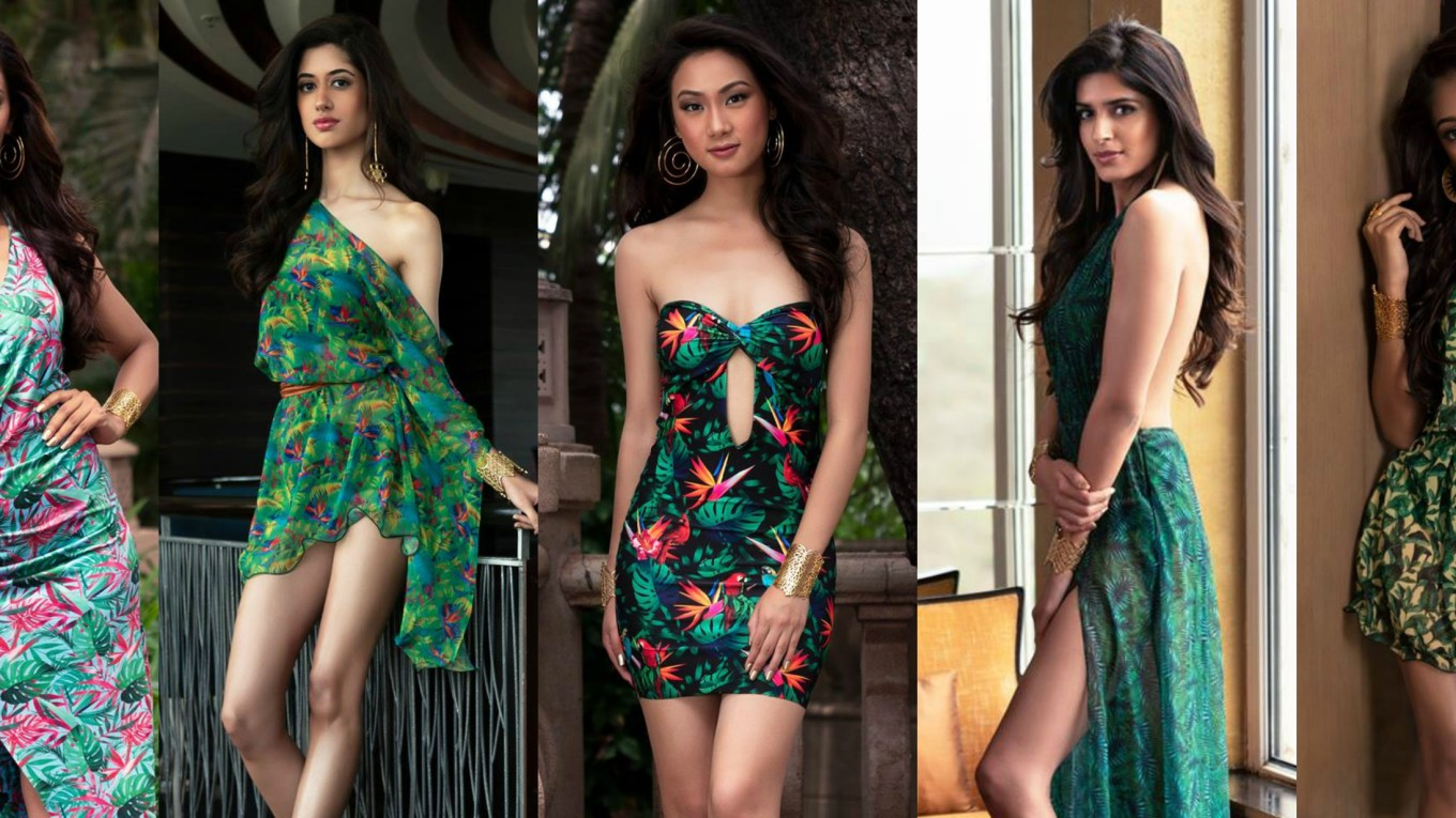 Femina Miss India 2018 resort wear pictures
