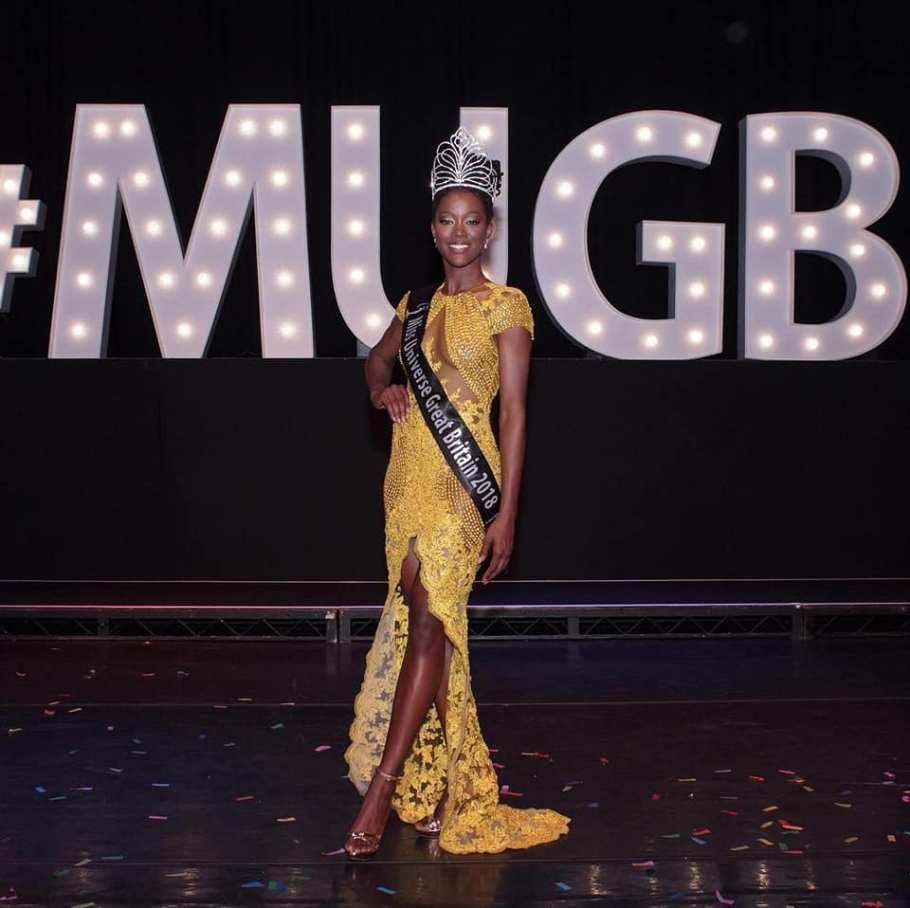Dee Ann Kentish Rogers wins Miss Universe Great Britain 2018