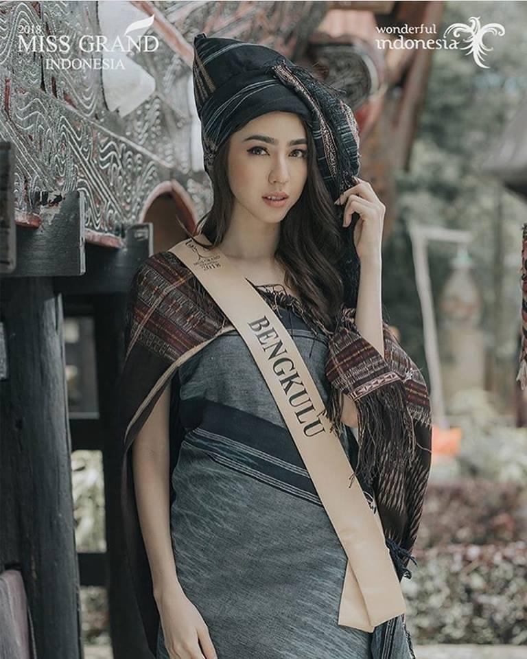 Nadia Purwoko wins Miss Grand Indonesia 2018