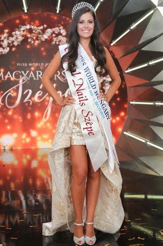 Miss World Hungary 2018,Andrea Szarvas