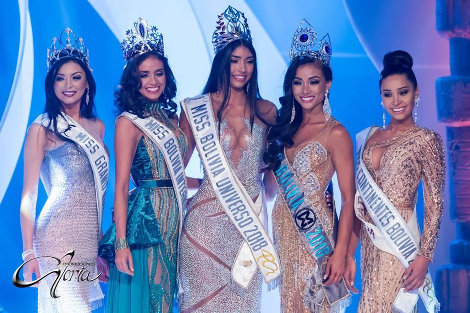 Meet the winners of Miss Bolivia 2018