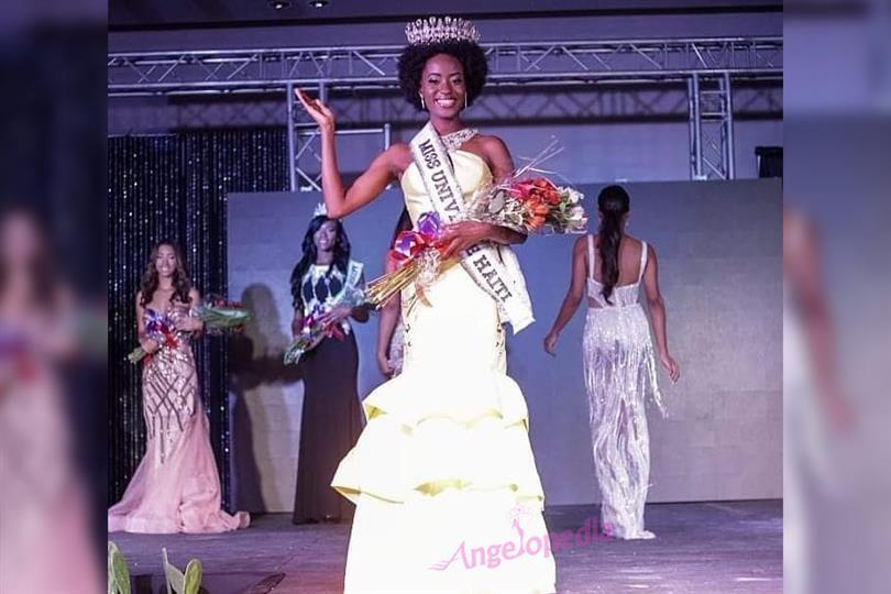 Samantha Colas crowned as Miss Haiti 2018