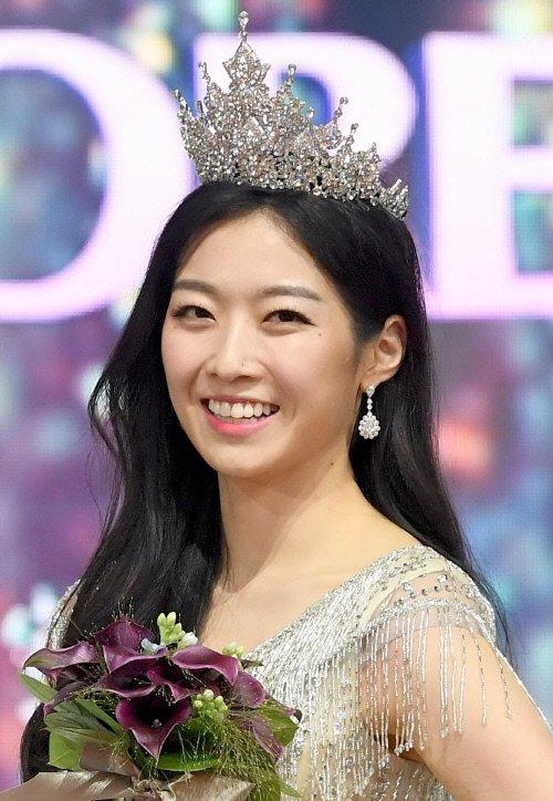 Kim Soo Min wins Miss Korea 2018