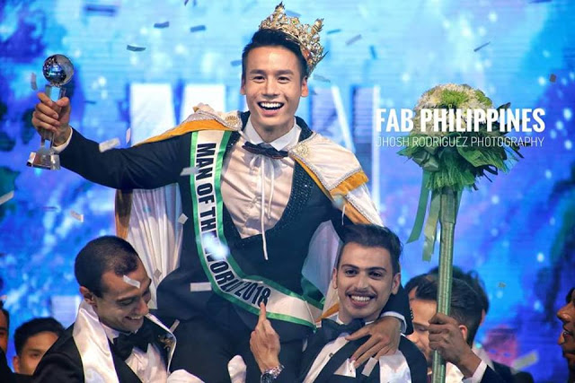 Xuan Tai from Vietnam wins Man of the World 2018