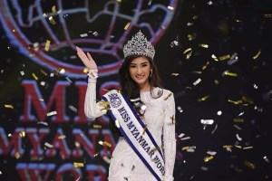 Han Thi wins Miss Myanmar World 2018