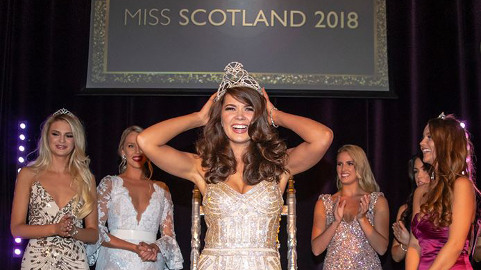 Linzi McLelland crowned Miss Scotland 2018