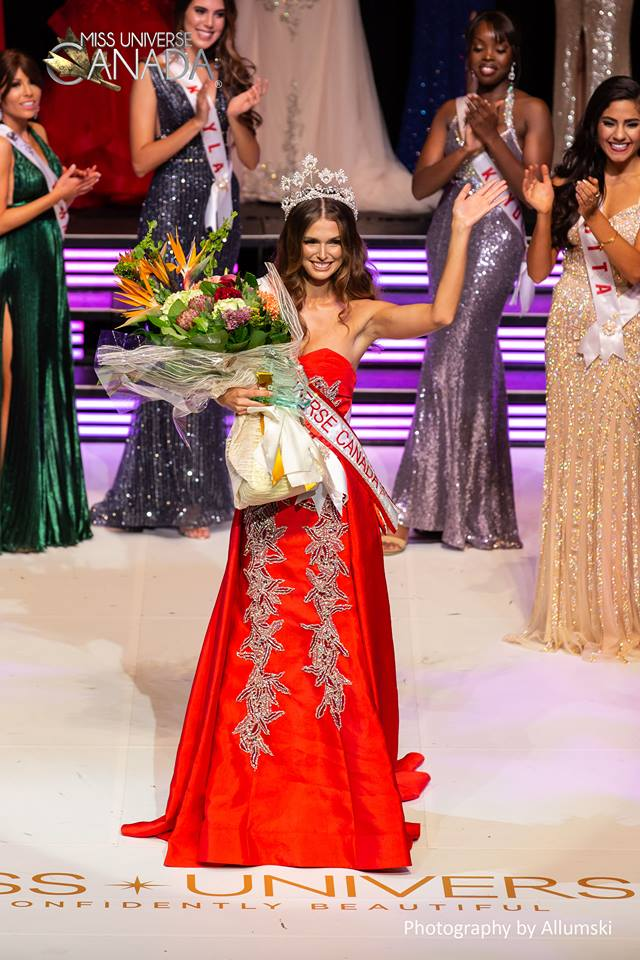 Marta Stepien crowned as Miss Universe Canada 2018
