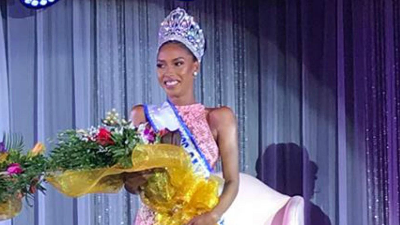 Caitlin Tyson wins Miss Cayman Islands Universe 2018