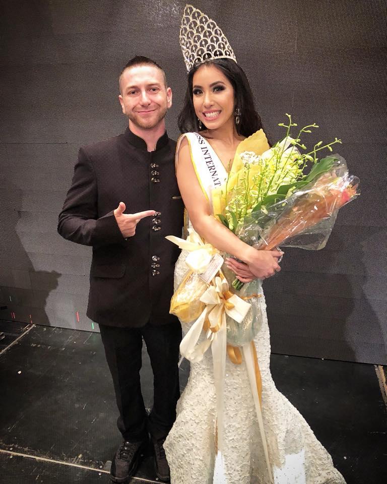 Kirsten Dahilig was crowned as the winner of Miss International Guam 2018