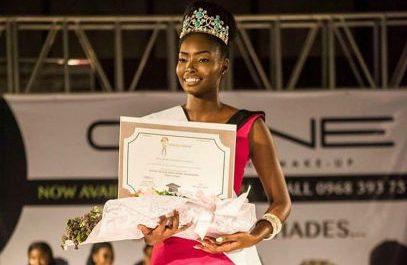 Melba Shakabozha was crowned as Miss Universe Zambia 2018