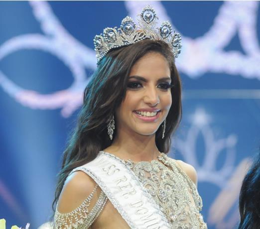 Aldy Bernard wins Miss Universe Dominican Republic 2018