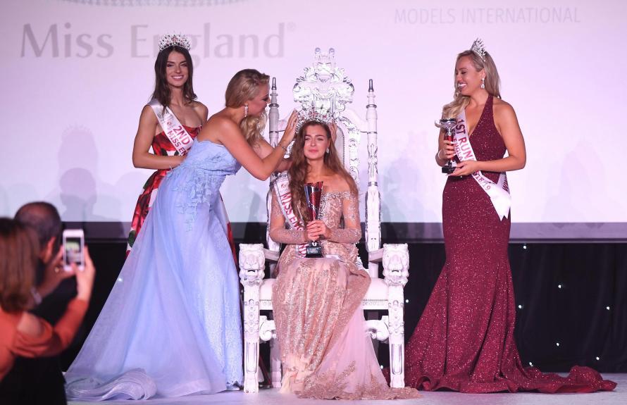 Alisha Cowie crowned as Miss England 2018
