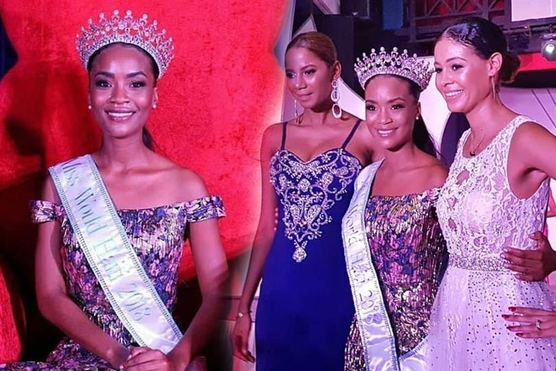 Stéphanie Morency crowned as Miss World Haiti 2018