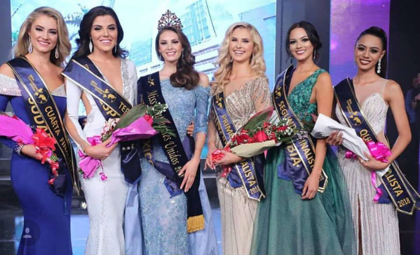 Andrea Sáenz from Mexico crowned as Miss United Continents 2018