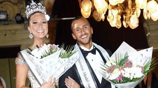 Emma Strandberg crowned as Miss Universe Sweden 2018