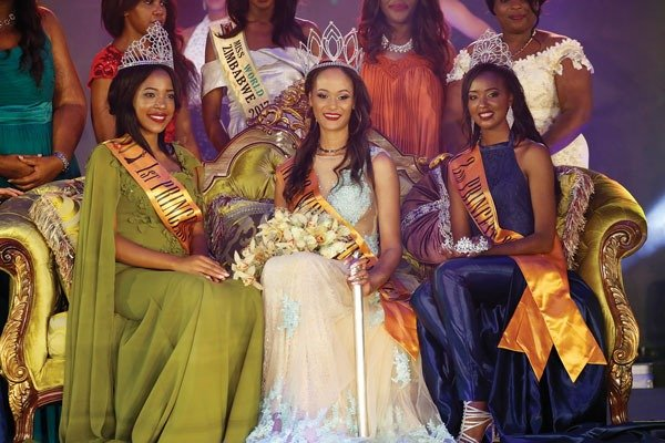 Belinda Potts crowned as Miss World Zimbabwe 2018