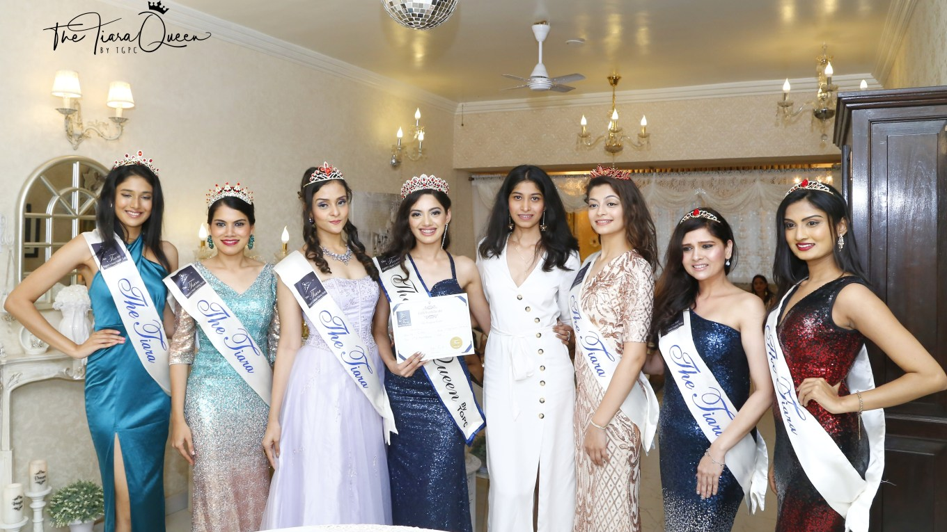 Shinata Chauhan wins The Tiara Queen by TGPC for August 2018 Batch