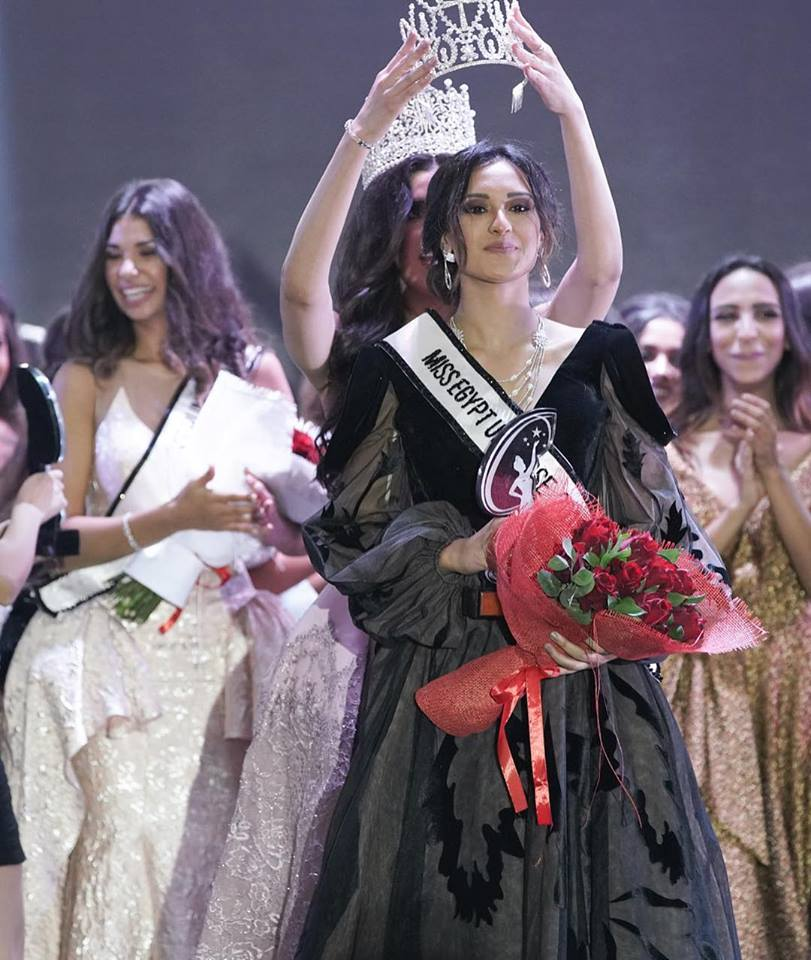 Nariman Khaled crowned as Miss Egypt Universe 2018