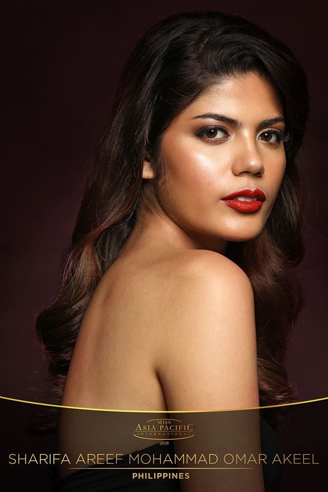 Sharifa Mohammed Akeel from Philippines crowned as Miss Asia Pacific International 2018