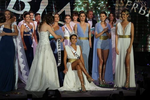 Sanja Lovcevic crowned as Miss Serbia 2018