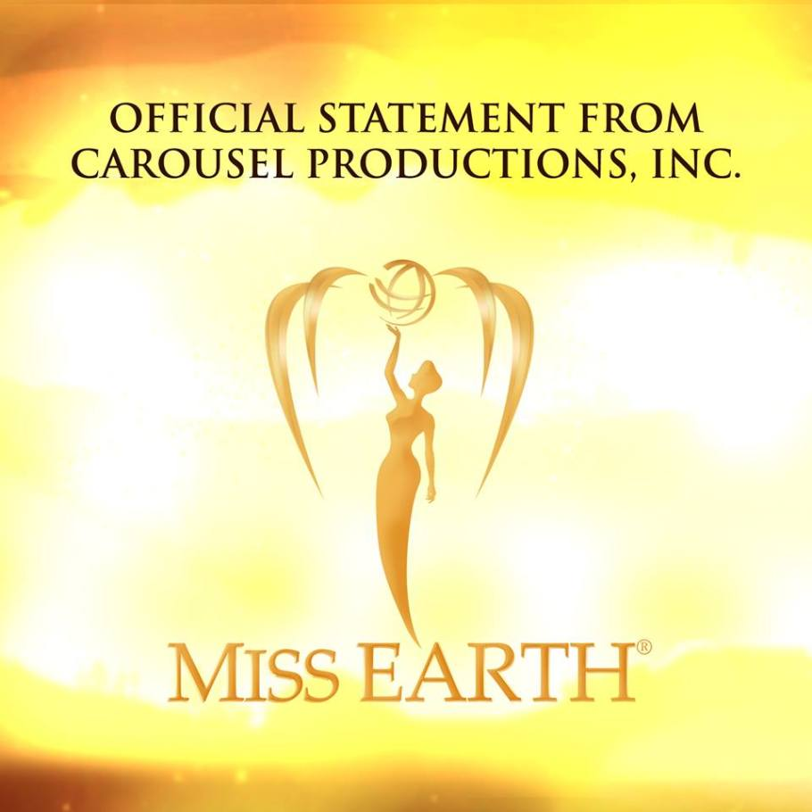 Official Statement from Miss Earth on Sexual Harassment Allegations by Miss Canada