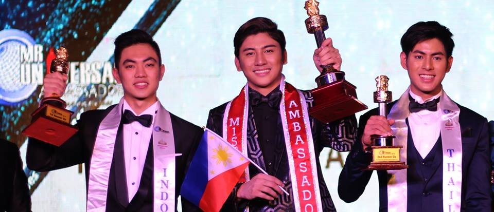 Mr Philippines wins Mister Universal Ambassador 2018