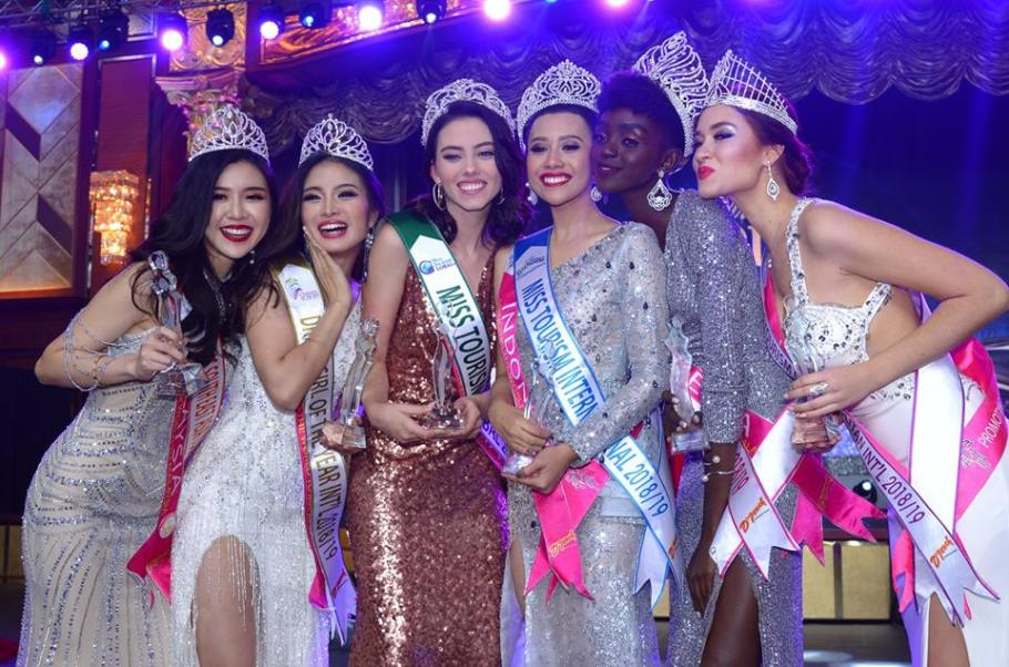 Astari Vernideani from Indonesia crowned Miss Tourism International 2018