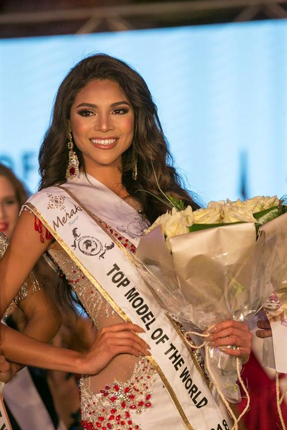 Janet Leyva from Peru wins Top Model Of The World 2018