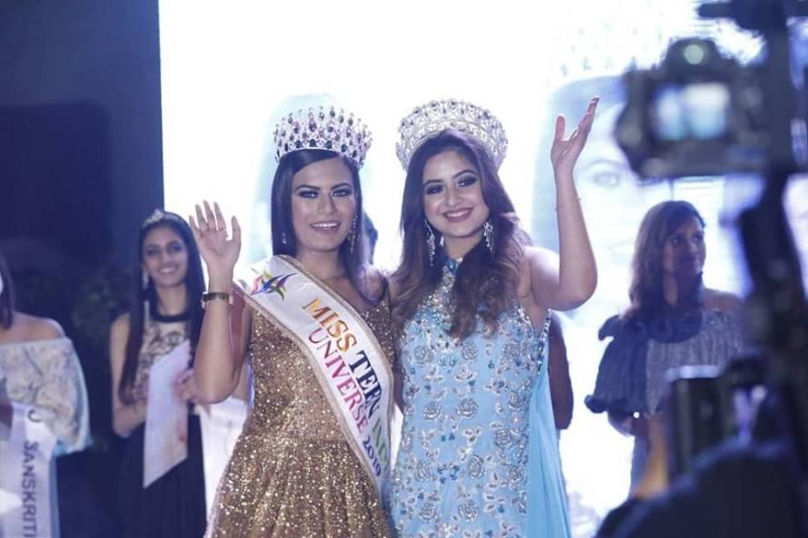 Apurva Thakur crowned as Miss Teen Universe India 2019