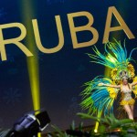 Miss Universe Aruba,Kimberly Julsing during the national costume presentation