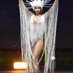 Miss Universe Bolivia,Joyce Prado during the national costume presentation