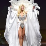 Miss Universe Germany,Celine Willers during the national costume presentation