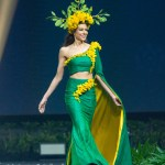 Miss Universe New Zealand,Estelle Curd during the national costume presentation