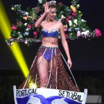 Miss Universe Portugal,Filipa Barroso during the national costume presentation
