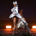Miss Universe South Africa,Tamaryn Green during the national costume presentation