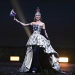 Miss Universe Sweden,Emma Strandberg during the national costume presentation