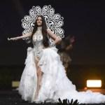 Miss Universe Switzerland,Jastina Doreen Riederer during the national costume presentation
