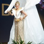 Miss Universe Thailand,Sophida Kanchanarin during the national costume presentation
