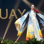 Miss Universe Uruguay,Sofía Marrero during the national costume presentation