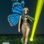 Miss Universe Venezuela,Sthefany Gutiérrez during the national costume presentation