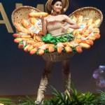 Miss Universe Vietnam,H'Hen Niê during the national costume presentation