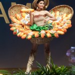 Miss Universe Vietnam,H'Hen Niê during the national costume presentation